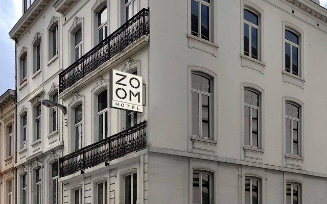 Отель Zoom Hotel Бельгия, Брюссель - 1 отзыв об отеле, цены и фото номеров - забронировать отель Zoom Hotel онлайн вид на фасад