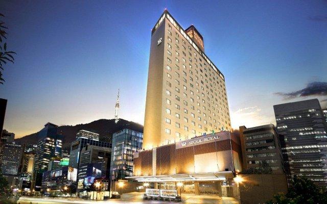 Отель Royal Hotel Seoul Южная Корея, Сеул - отзывы, цены и фото номеров - забронировать отель Royal Hotel Seoul онлайн вид на фасад