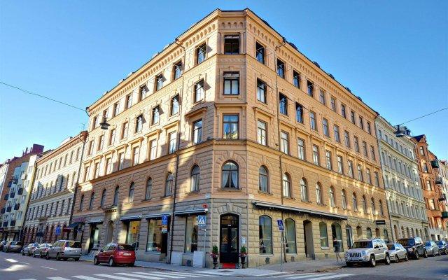 Отель HANSSON Стокгольм вид на фасад