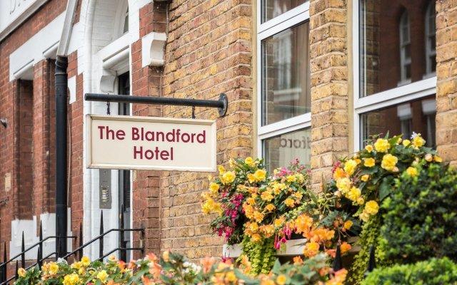 Отель Blandford Hotel Великобритания, Лондон - отзывы, цены и фото номеров - забронировать отель Blandford Hotel онлайн вид на фасад