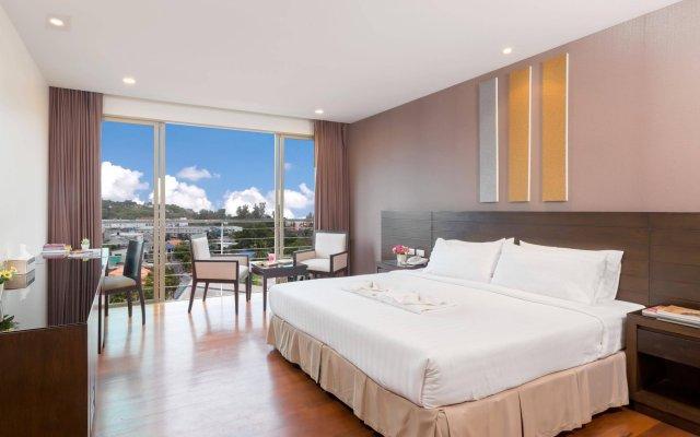 Апартаменты G1 Serviced Apartment Kamala Beach комната для гостей