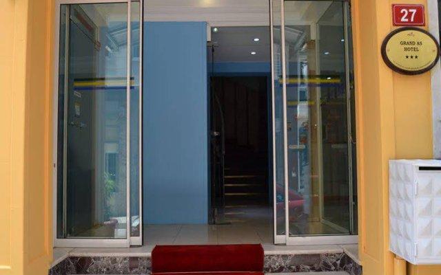 Grand As Hotel Турция, Стамбул - 1 отзыв об отеле, цены и фото номеров - забронировать отель Grand As Hotel онлайн вид на фасад
