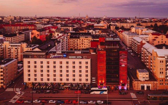 Radisson Blu Seaside Hotel, Helsinki вид на фасад