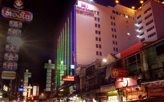 Hotel Royal Bangkok Chinatown Бангкок вид на фасад