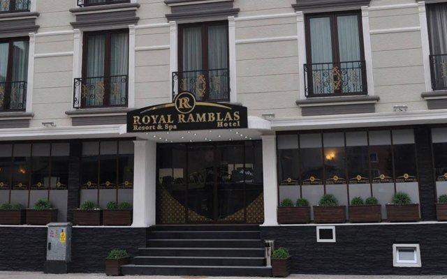 Royal Ramblas Hotel Турция, Измит - отзывы, цены и фото номеров - забронировать отель Royal Ramblas Hotel онлайн вид на фасад