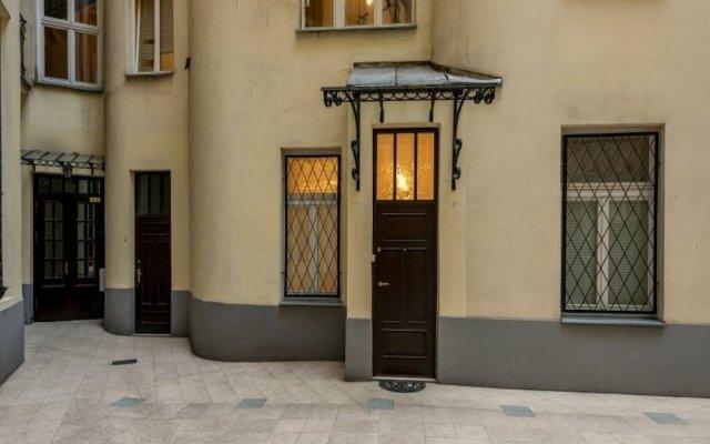 Отель P&O Apartments Bagetela Польша, Варшава - отзывы, цены и фото номеров - забронировать отель P&O Apartments Bagetela онлайн вид на фасад