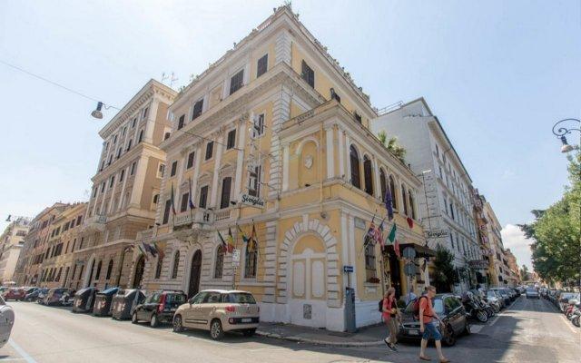 Отель Siviglia Италия, Рим - 1 отзыв об отеле, цены и фото номеров - забронировать отель Siviglia онлайн вид на фасад