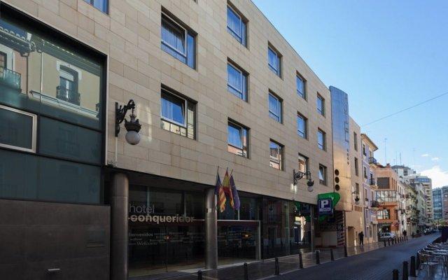 Отель Conqueridor Испания, Валенсия - 1 отзыв об отеле, цены и фото номеров - забронировать отель Conqueridor онлайн вид на фасад