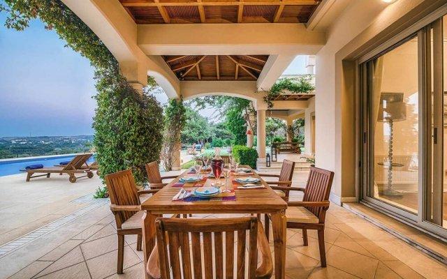 Отель Bello Blu Luxury Villa Родос вид на фасад