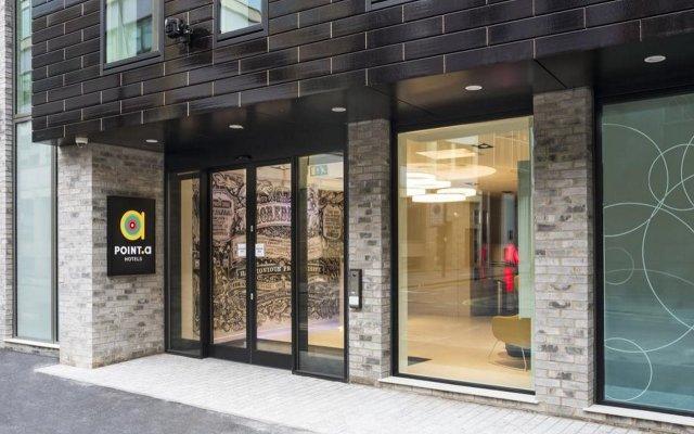 Point A Hotel London Shoreditch вид на фасад