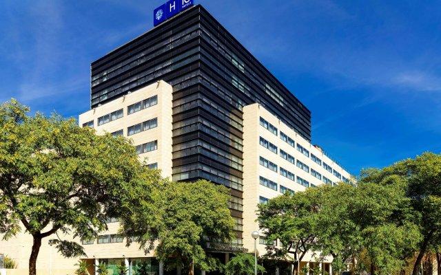 Отель H10 Marina Barcelona Испания, Барселона - 12 отзывов об отеле, цены и фото номеров - забронировать отель H10 Marina Barcelona онлайн вид на фасад