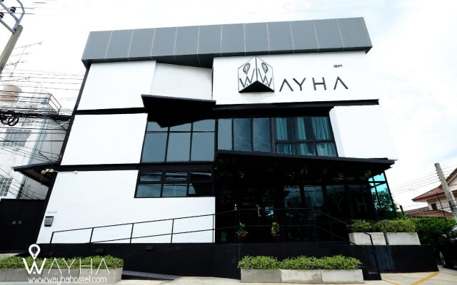 Wayha Hostel Don Mueang Airport вид на фасад