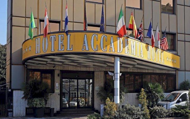 Hotel Accademia вид на фасад