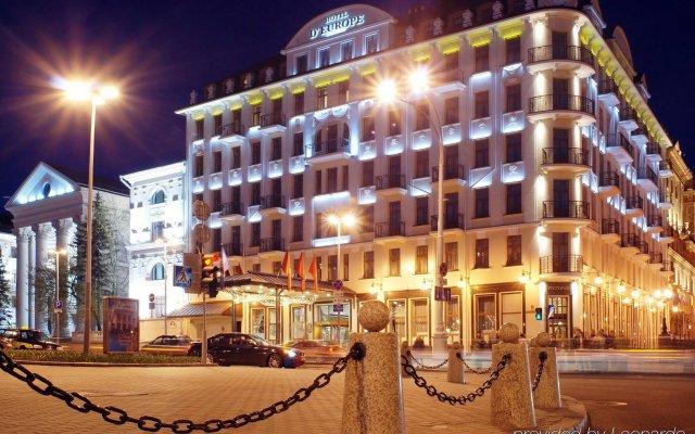 Гостиница Европа вид на фасад