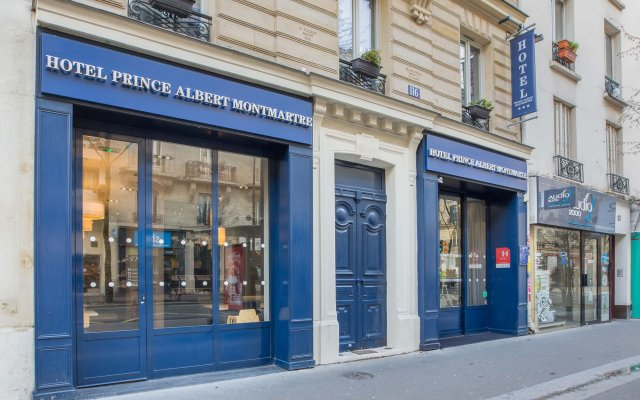 Отель Best Western Prince Montmartre Франция, Париж - 2 отзыва об отеле, цены и фото номеров - забронировать отель Best Western Prince Montmartre онлайн вид на фасад