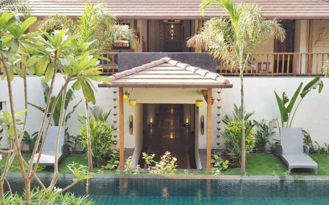 AM Hotel Kollection Ānamiva Goa Гоа вид на фасад