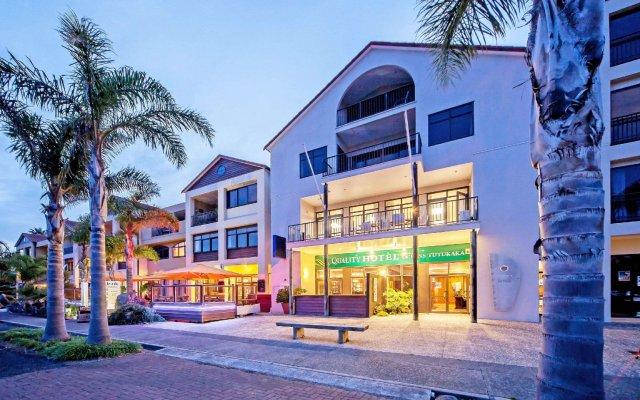 Quality Hotel Oceans Tutukaka вид на фасад