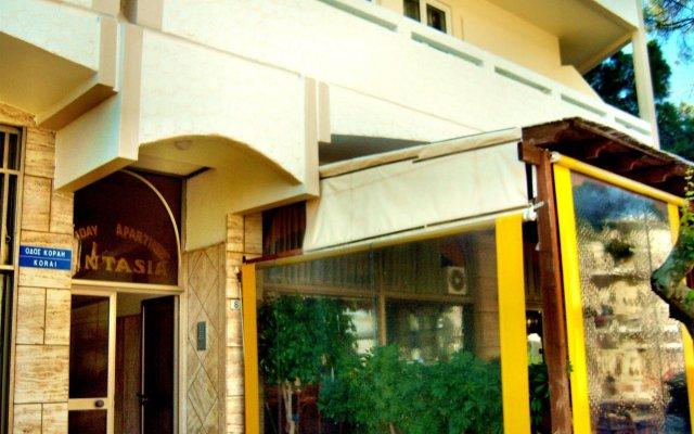Отель Fantasia Hotel Apartments Греция, Кос - отзывы, цены и фото номеров - забронировать отель Fantasia Hotel Apartments онлайн вид на фасад