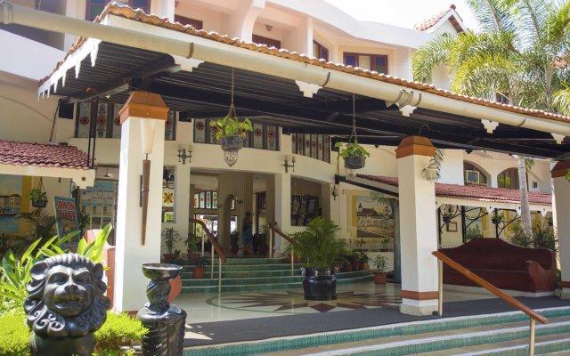 Отель Heritage Village Club Гоа вид на фасад