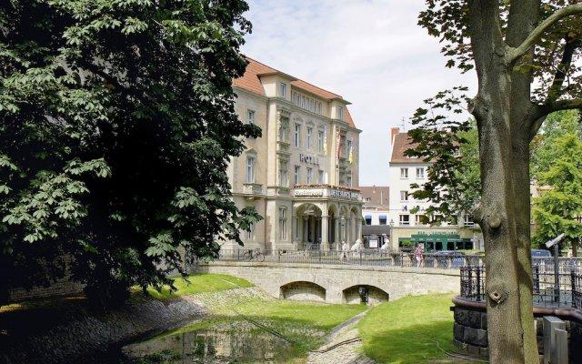 Hotel Deutsches Haus вид на фасад