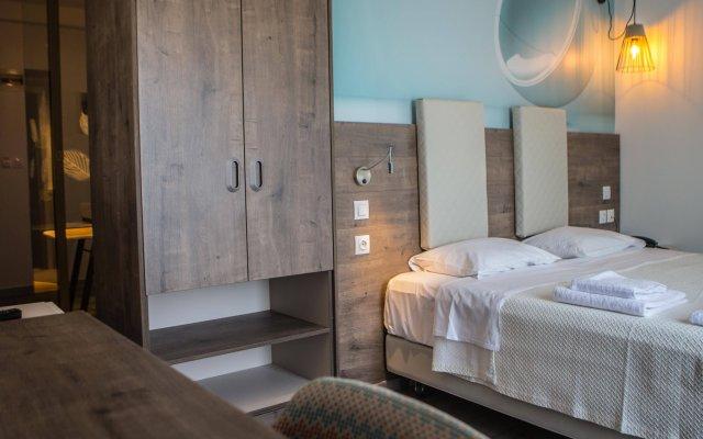 Отель Metropolitan Салоники комната для гостей