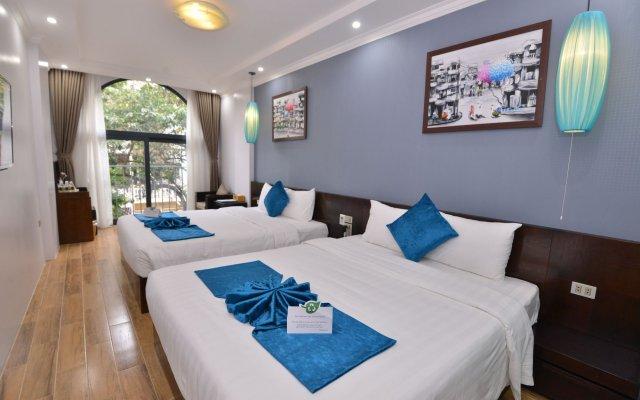 Отель Hanoi Bella Rosa Suite Hotel Вьетнам, Ханой - отзывы, цены и фото номеров - забронировать отель Hanoi Bella Rosa Suite Hotel онлайн вид на фасад