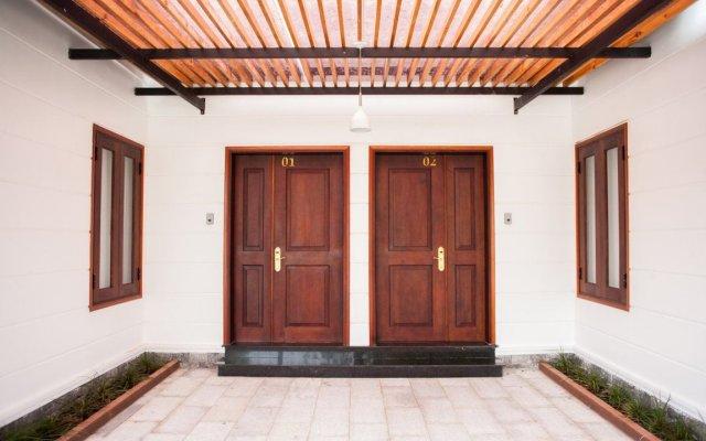 Отель Trieu Khang Hotel Вьетнам, Камрань - отзывы, цены и фото номеров - забронировать отель Trieu Khang Hotel онлайн вид на фасад
