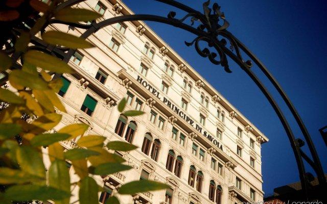 Hotel Principe Di Savoia вид на фасад