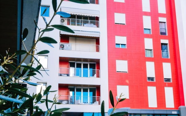 Отель The Rooms Hotel, Residence & Spa Албания, Тирана - отзывы, цены и фото номеров - забронировать отель The Rooms Hotel, Residence & Spa онлайн вид на фасад