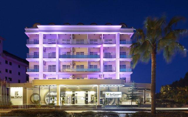 Отель SunConnect Grand Ideal Premium - All Inclusive вид на фасад