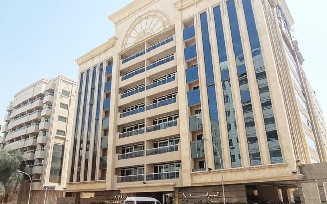 Al Raya Hotel Apartment вид на фасад
