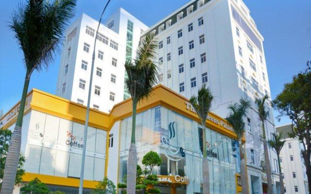 Hai Ba Trung Hotel and Spa вид на фасад