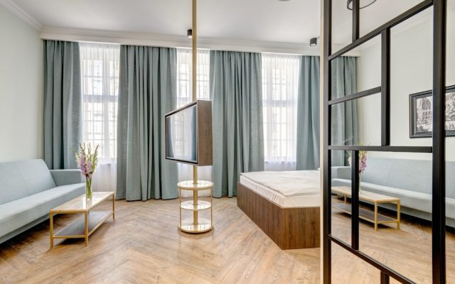 Отель Apartamenty Sowa Gdańsk Польша, Гданьск - отзывы, цены и фото номеров - забронировать отель Apartamenty Sowa Gdańsk онлайн комната для гостей