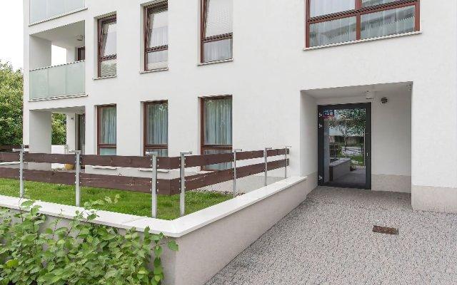 Отель P&O Apartments Ordona Польша, Варшава - отзывы, цены и фото номеров - забронировать отель P&O Apartments Ordona онлайн вид на фасад