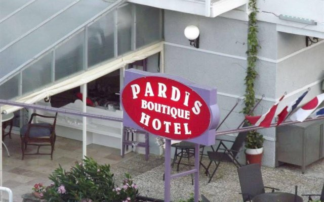 Pardis Boutique Hotel вид на фасад