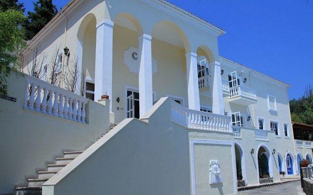 Отель Corfu Village Сивота вид на фасад