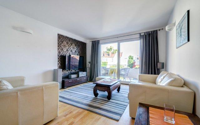 Апартаменты Dom&House-Apartment Morska Central Sopot Сопот комната для гостей
