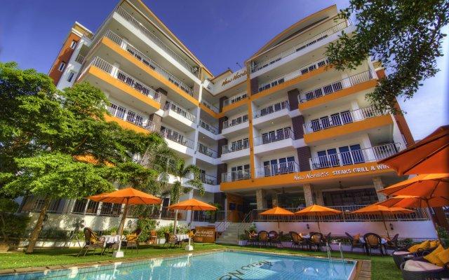 Отель New Nordic Marcus Таиланд, Паттайя - 12 отзывов об отеле, цены и фото номеров - забронировать отель New Nordic Marcus онлайн бассейн