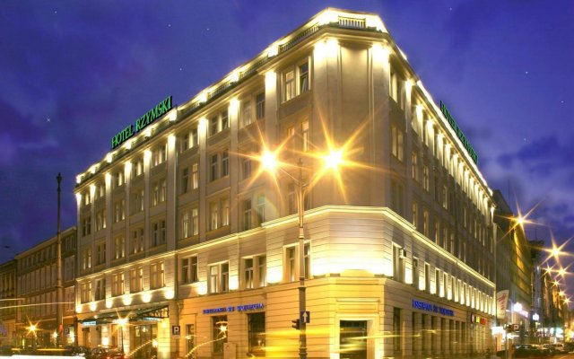 Отель Rzymski Польша, Познань - отзывы, цены и фото номеров - забронировать отель Rzymski онлайн вид на фасад
