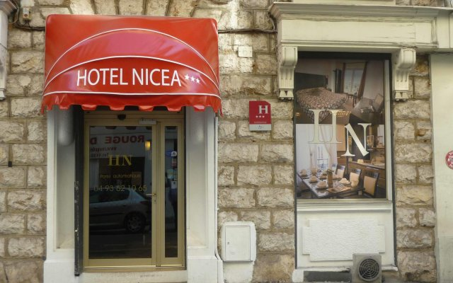 Отель Days Inn Nice Centre вид на фасад