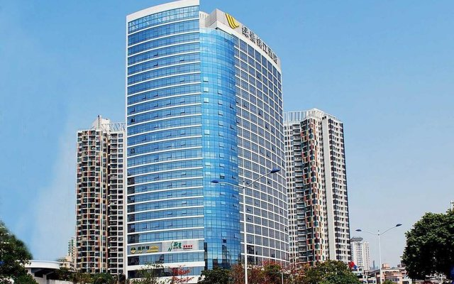 Отель LVGEM Hotel Китай, Шэньчжэнь - отзывы, цены и фото номеров - забронировать отель LVGEM Hotel онлайн вид на фасад