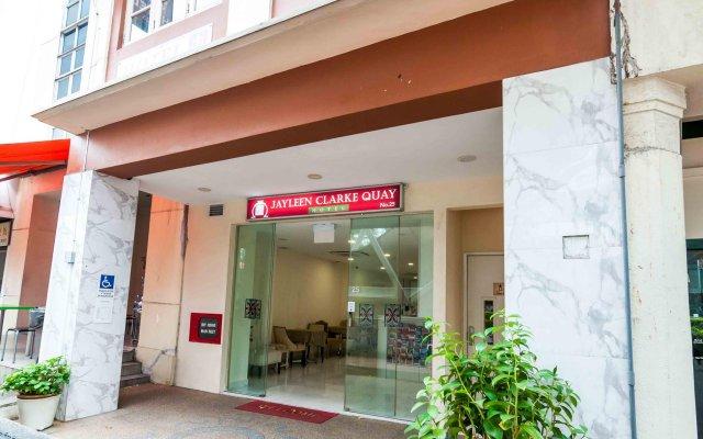 Отель Jayleen Clarke Quay Сингапур вид на фасад