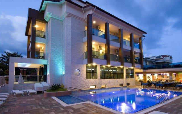 Supreme Marmaris Турция, Мармарис - 2 отзыва об отеле, цены и фото номеров - забронировать отель Supreme Marmaris онлайн вид на фасад