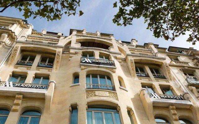 Paris Marriott Champs Elysees Hotel Париж вид на фасад