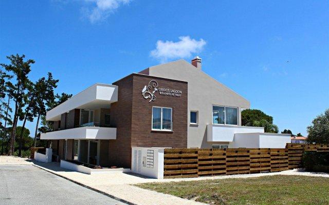 Отель Obidos Lagoon Wellness Retreat вид на фасад