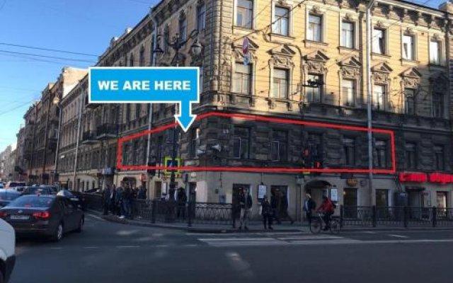 Гостиница Coffee Hostel в Санкт-Петербурге 7 отзывов об отеле, цены и фото номеров - забронировать гостиницу Coffee Hostel онлайн Санкт-Петербург вид на фасад