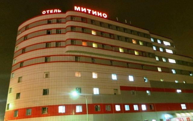 Гостиница Митино вид на фасад