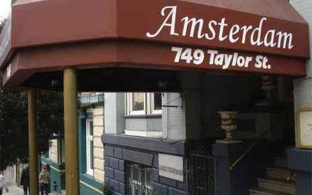 Amsterdam Hostel San Francisco вид на фасад