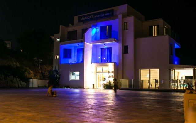 Marica's Boutique Hotel вид на фасад
