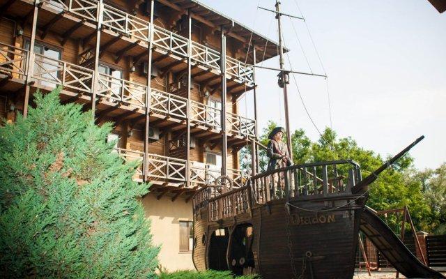 Гостиница СПА-Клуб Диодон вид на фасад